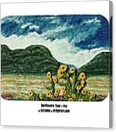 Sunflowers Taos Canvas Print