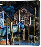 Shem Creek Life Canvas Print