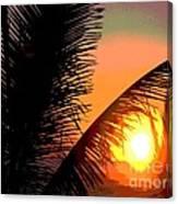 Sunlight - Ile De La Reunion - Reunion Island Canvas Print