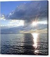 Sunlight Reflections Canvas Print
