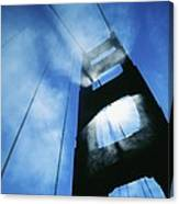 Sunlight Shining Through Golden Gate Canvas Print