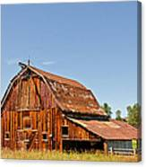 Sunlit Barn Canvas Print