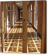 Sunlit Corridor Canvas Print