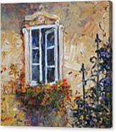 Sunlit Window Canvas Print
