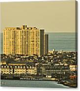 Sunny Day In Atlantic City Canvas Print