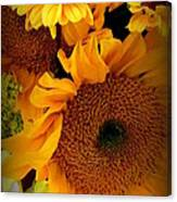 Sunny Easter Bouquet Canvas Print