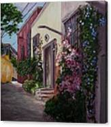 Sunny Side Of The Street Canvas Print