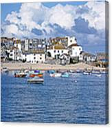 Sunny St Ives Canvas Print