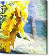 Sunnyabstracted Canvas Print