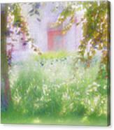 Sunpainting At The Park Canvas Print