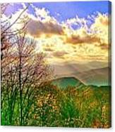 Sunray Illumination Canvas Print