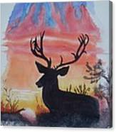 Sunrise Alert  Canvas Print