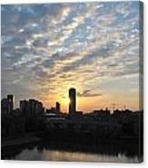 Sunrise Arise Buffalo Ny V1 Canvas Print