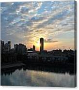 Sunrise Arise Buffalo Ny V2 Canvas Print