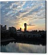 Sunrise Arise Buffalo Ny V2 Canvas Print