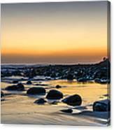 Sunrise At Burleigh Canvas Print