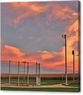 Sunrise At Field Of Dreams Canvas Print