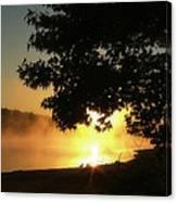 Sunrise At Lake Lanier 006 Canvas Print