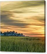 Sunrise At Little Neck Canvas Print
