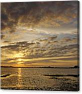 Sunrise At Low Tide - Sleepy Cove Canvas Print