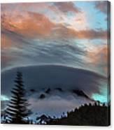 Sunrise At Mount Hood   Canvas Print