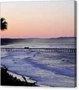 Sunrise At Pismo Beach Canvas Print