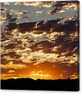 Sunrise At Spirit Lake Sanctuary 20140710 0604 Canvas Print