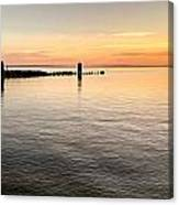 Sunrise At The Straits Canvas Print