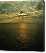Sunrise Beams Hatteras 15 10/18 Canvas Print