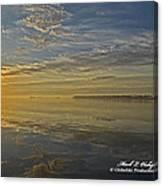 Sunrise Biloxi Ms Dec 2 2013 Canvas Print