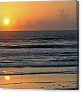 Sunrise Daytona Canvas Print