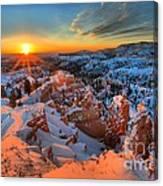 Sunrise Delight Canvas Print