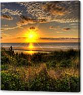 Sunrise Dune Canvas Print