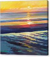 Sunrise Flats Canvas Print