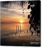 Sunrise Hang Canvas Print
