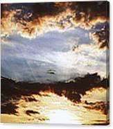Sunrise Heaven Canvas Print