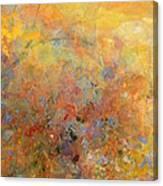 Sunrise In Cynthia's Garden Canvas Print