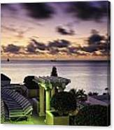 Sunrise In Ft. Lauderdale Canvas Print