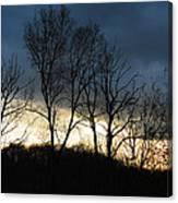 Sunrise In Murrysville Canvas Print