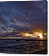 Sunrise In Paradise Canvas Print