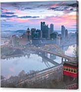 Pittsburgh Fall Day Canvas Print