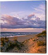 Sunrise In Rodanthe Canvas Print
