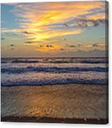 Sunrise In Salvo Canvas Print