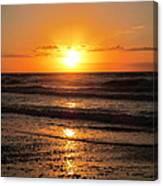 Sunrise In Texas 4 Canvas Print