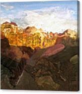 Sunrise In Zion Canvas Print