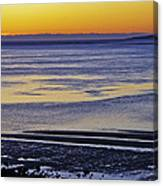 Sunrise Ipswich Bay Canvas Print