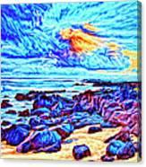 Sunrise Near Poipu Beach Canvas Print