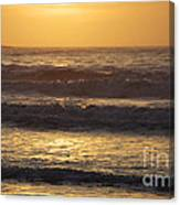 Sunrise Newport Ri Winter 2013 Canvas Print