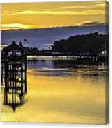Sunrise Of The Atlantic Icw Canvas Print