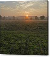 Sunrise On A New Day Canvas Print